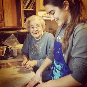 Pie Making with Grandma
